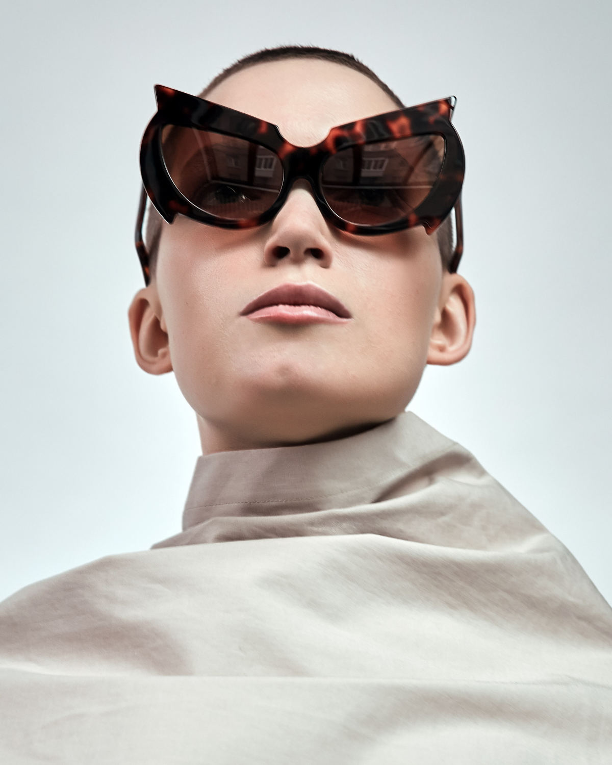 FAKBYFAK Fashion sunglasses Black Mantis Model 1. Tortoise Code: 02/01/02