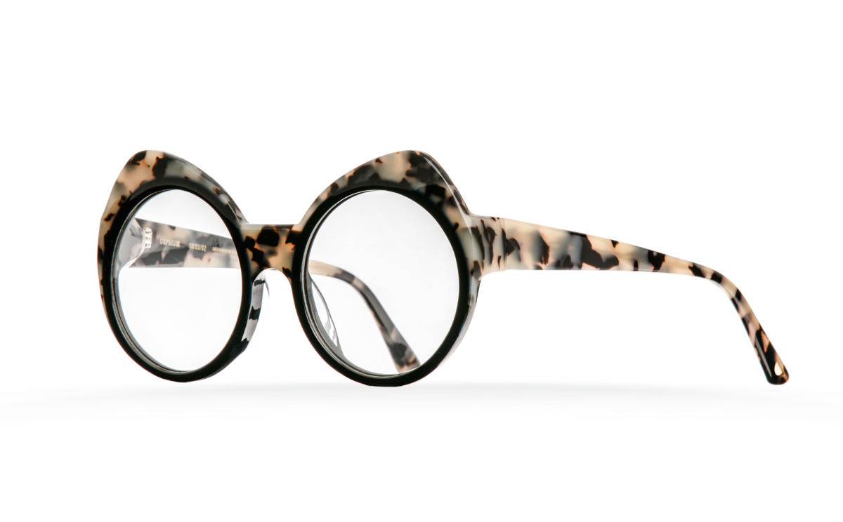 FAKBYFAK Designer glasses Orphium Model 3. Optic. Black Smoke Havana Code: 18/03/02