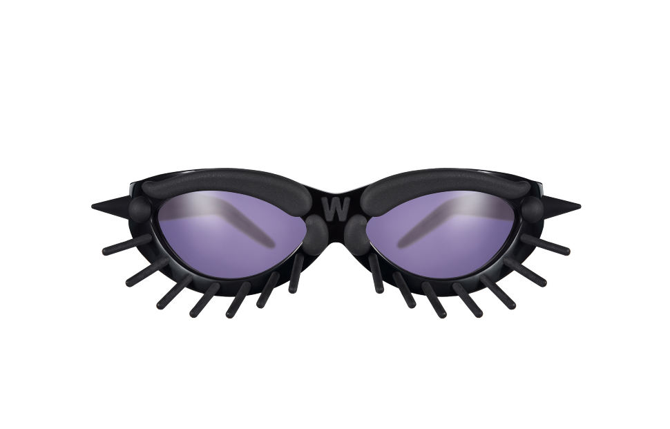 Toy Glasses Model 1. Black with black pins