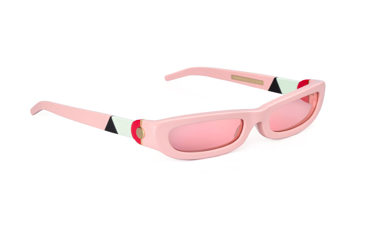 FAKBYFAK x Pilar Zeta Fashion sunglasses Model SHARP. Sun. Glossy Pink Code: 14/01/05