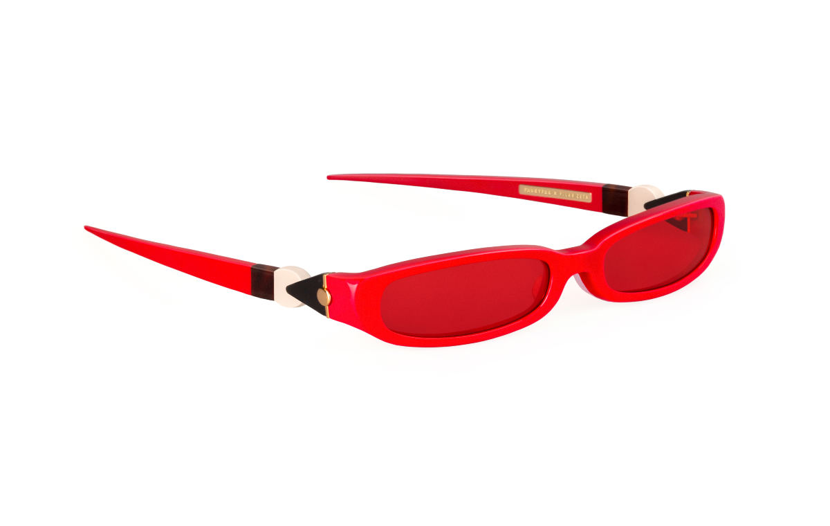 FAKBYFAK x Pilar Zeta Fashion sunglasses Model GRACE. Sun. Glossy Red Code: 14/02/06