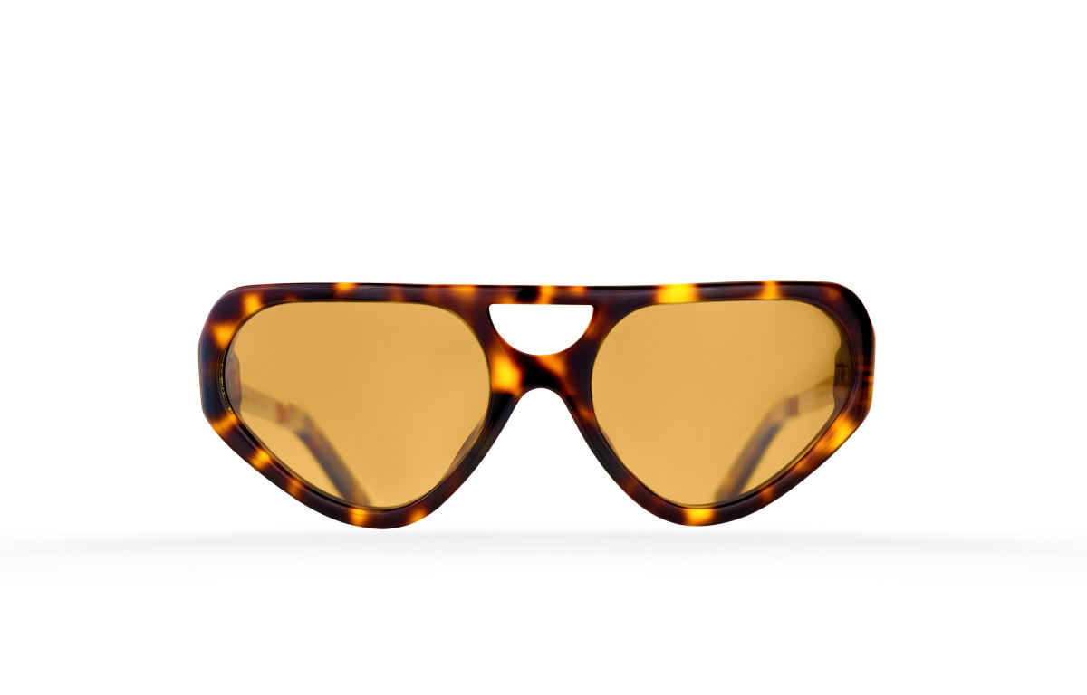 FAKBYFAK Fashion sunglasses Cyber Limbo Model 1. Tortoise Code: 04/01/02