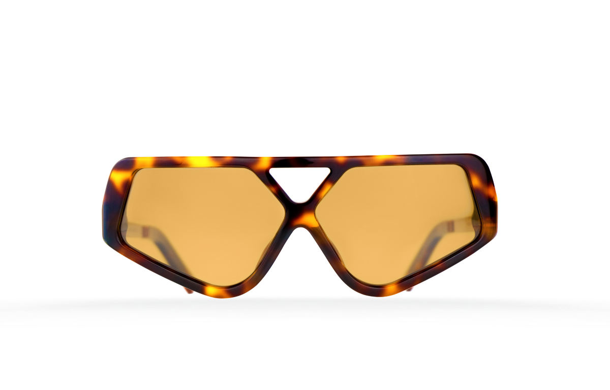 FAKBYFAK Fashion sunglasses Cyber Limbo Model 2. Tortoise Code: 04/02/02