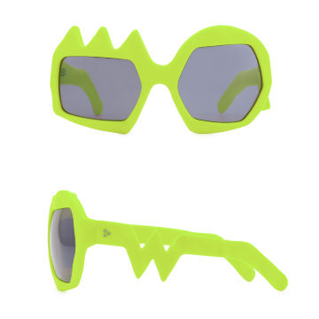 Lightning Sunglasses. Neon Yellow