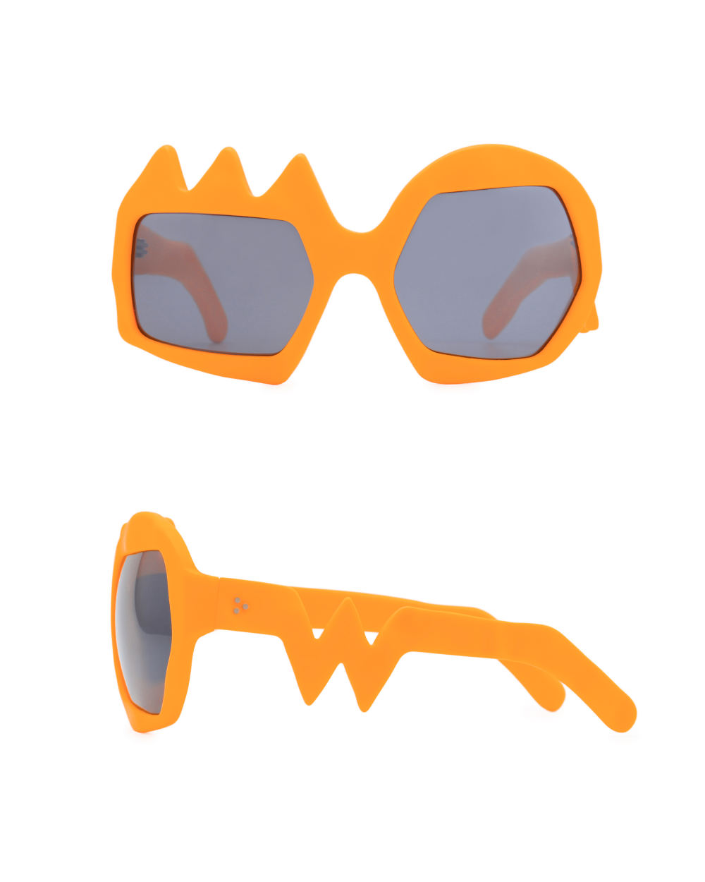 Lightning Sunglasses. Neon Orange