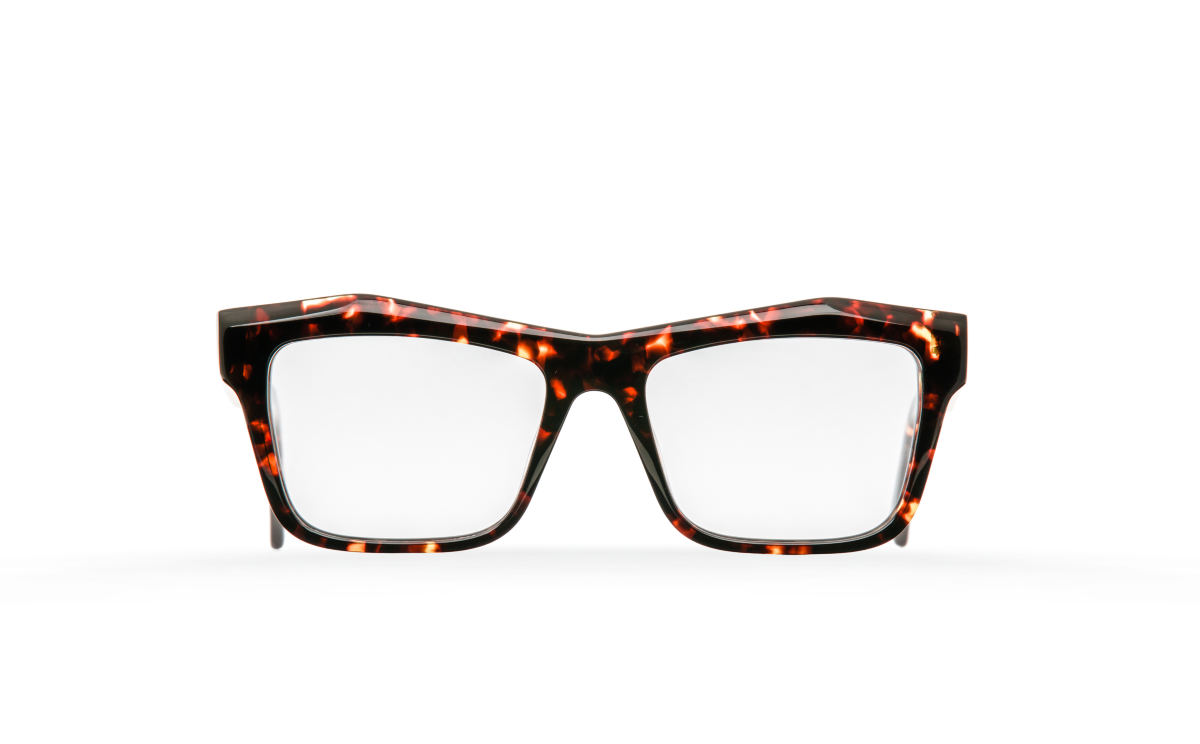 FAKBYFAK Designer glasses Fakfarer Model 1. Optic. Burning Sycamore Havana Code: 19/01/04