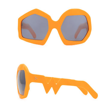 Thunder Sunglasses. Neon Orange