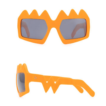 Bliksem Sunglasses. Neon Orange
