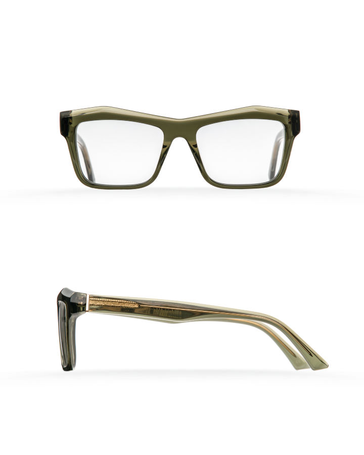 Fakfarer Model 1. Optic. Green Grey Crystal
