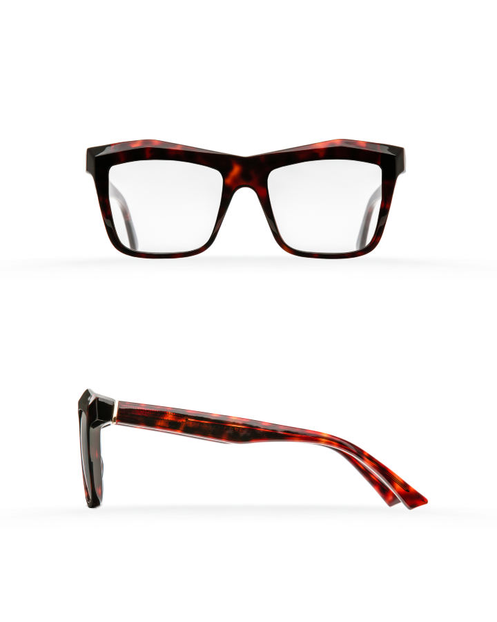 Fakfarer Model 2. Optic. Dark Cherry Havana