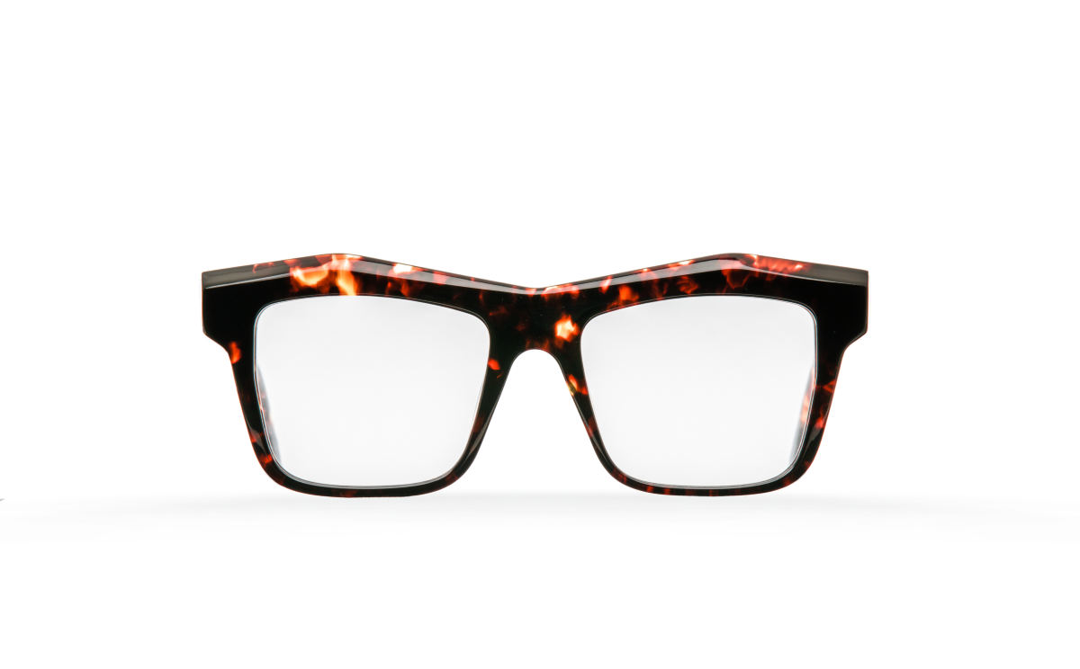 FAKBYFAK Designer glasses Fakfarer Model 2. Optic. Burning Sycamore Havana Code: 19/02/04