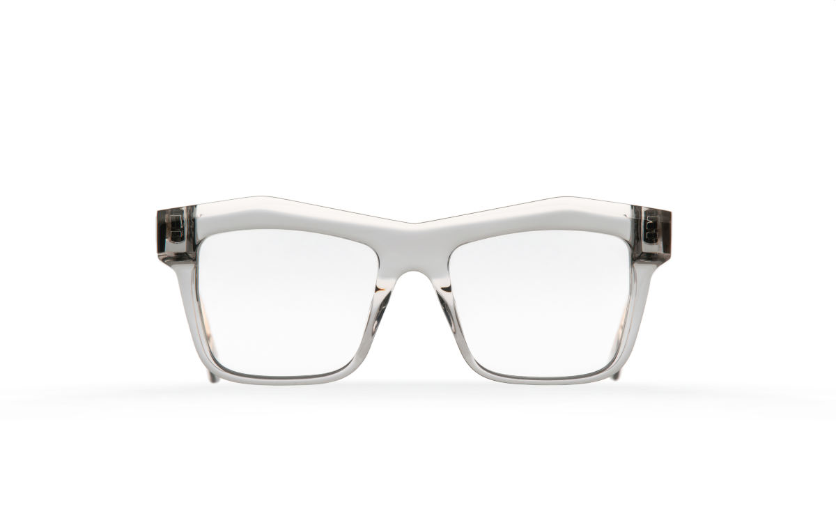 FAKBYFAK Designer glasses Fakfarer Model 2. Optic. Grey Crystal Code: 19/02/06