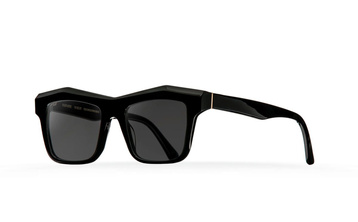FAKBYFAK Designer sunglasses Fakfarer Model 2. Sun. Royal Black Code: 19/02/11