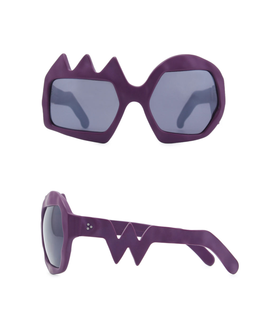 Lightning Sunglasses. Purple