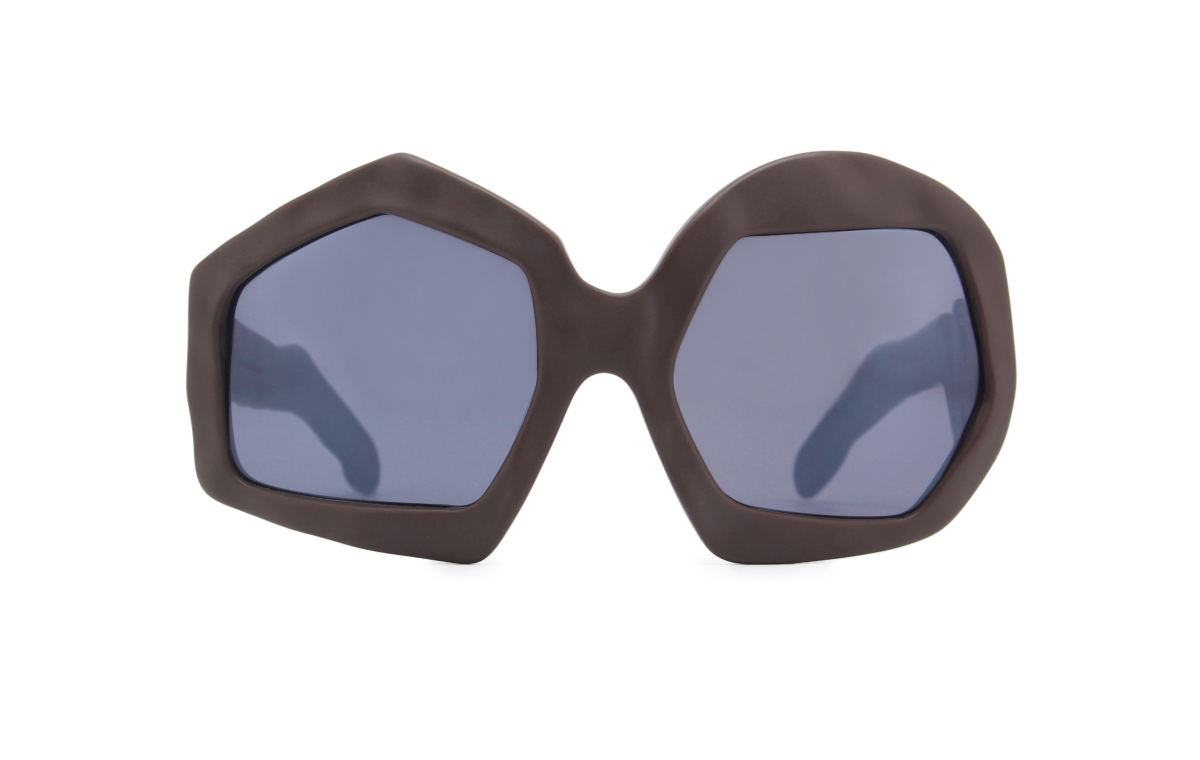 FAKBYFAK x Walter Van Beirendonck Couture sunglasses Thunder Sunglasses. Brown Code: 09/12/02