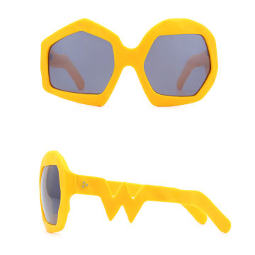 Thunder Sunglasses. Zinnia Orange