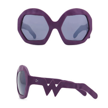 Donder Sunglasses. Purple