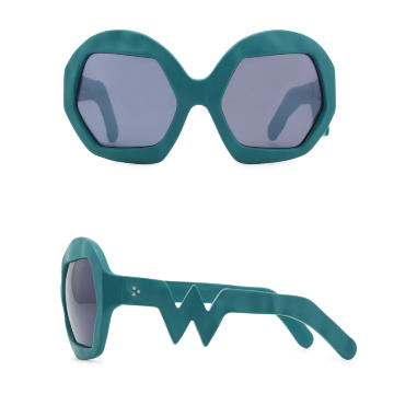 Donder Sunglasses. Petrol Green