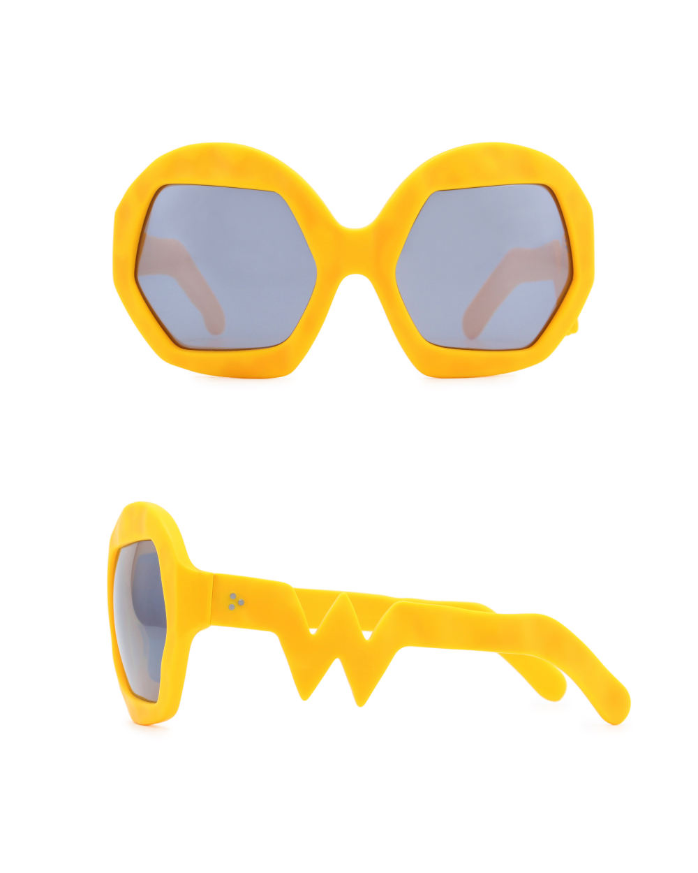 Donder Sunglasses. Zinnia Orange