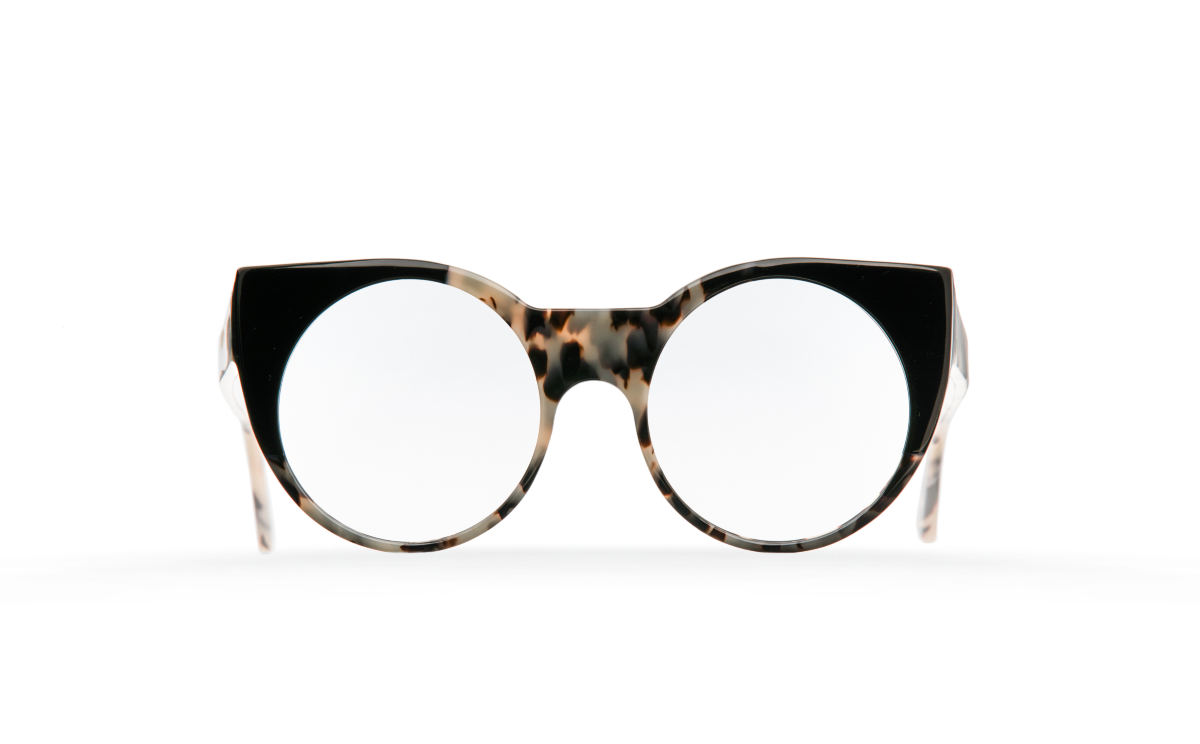 FAKBYFAK Designer glasses Orphium Model 1. Optic. Black Smoke Havana Code: 18/01/02